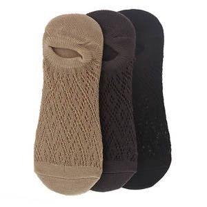 Free People Boho Crochet Ankle Socks Set of 3 NWT